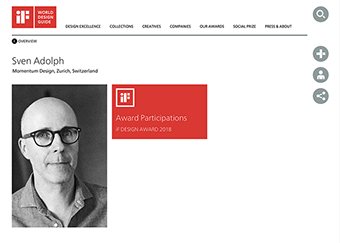 Sven Adolph IF Design Award Jury